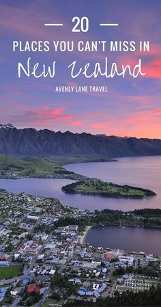 New Zealand is one of the world's most unique locations. The combination of natural geography and an incredibly friendly culture help make it one of the most attractive destinations on the globe. Click through to see 20 of the most incredible places in New Zealand!