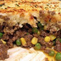 30 Minute Shepherd's Pie @keyingredient #cheese #vegetables #pie #casserole