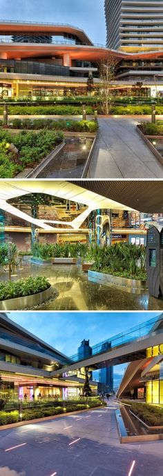 How Landscape Design Became the Most Important Feature of Zorlu Center #LandscapeArquitecture