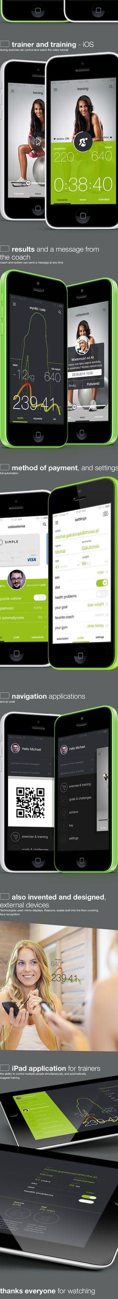 tech4fit on App Design Served