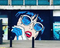 New Street Art by Richard Simmons in Croydon London #streetart #graffiti #art #mural https://t.co/0a4kwFP0cz