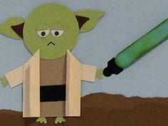 Yoda punch art