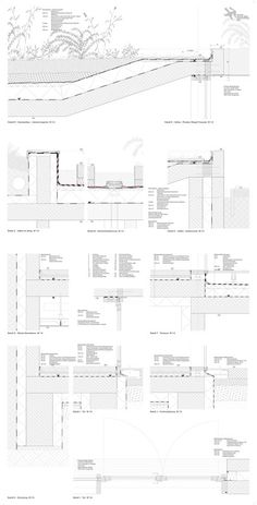 Detail bodenplatte fassade m 1 20 details pinterest for Architektur 20er