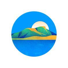 Usa Today, One Color, Badge, Branding, Illustration, Art, Art Background, Brand Management, Kunst