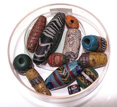 Beads: Period:     Ptolemaic or Roman Period Date:     304 B.C.–A.D. 364 Geography:     Country of Origin Egypt