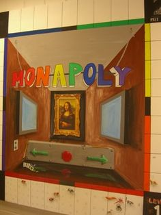 MONApoly: Art Game for classroom management