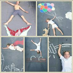 Easy Things To Draw With Chalk ; Easy Things To Draw Doodle Art chalk doodle art for beginners draw Easy Easy Chalk Drawings, Chalk Photography, Chalk Pictures, Art For Kids, Crafts For Kids, Kids Fathers Day Crafts, Jar Crafts, Art Disney, Sidewalk Chalk Art