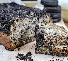 Peanut Butter Oreo Banana Bread | 10 Homemade Bread Recipes That Will Satisfy Your Sweet Tooth by Homemade Recipes at http://homemaderecipes.com/cooking-101/10-homemade-bread-recipes/