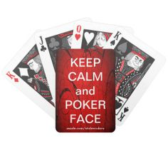 Poker Face Playing Cards #ladygaga#gaga#funny#poker