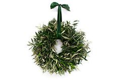 One Kings Lane - Rustic Romance - 18 Olive Branch Wreath