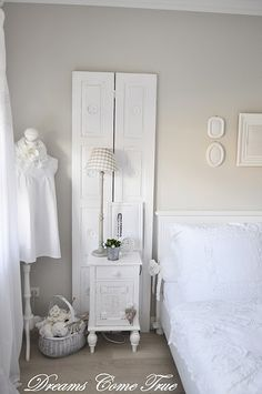 with shutters like this behind the dressers.   I already have 1 set.   The the Loading Dock has another.  :)  HURRAY!