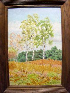 Charles LACOSTE (1870-1959), peintre français. Huile sur carton signée et datée en bas à gauche