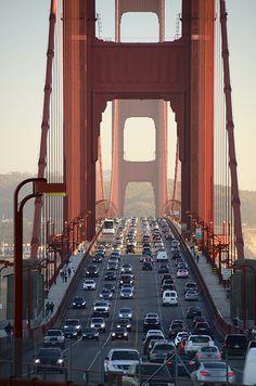Golden Gate Bridge - San Francisco San Francisco California, Great Pic, World Cities, St Francis, New Adventures, Golden Gate Bridge, The Good Place, San Diego, San Francisco