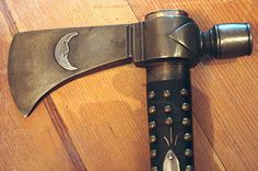 The well known Kentucky Rifle maker, Peter Angstandt, made the original tomahawk in Berks County, Pennsylvania in 1804. This is a handmade museum quality replication of this very hawk.