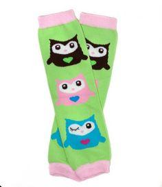 Owl Baby Leg Warmers