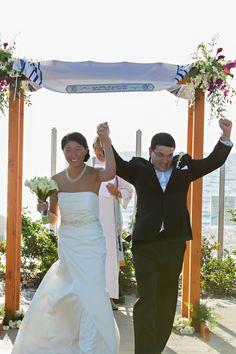 Chuppah Bride Groom - mazelmoments.com