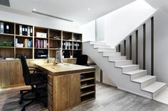 Unfinished Basement Office Ideas : ... Offices on Pinterest  Basement remodeling, Basements and Unfinished