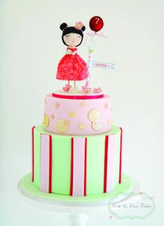 Little China girl cake