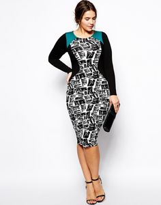 STYLISH CURVES PICK OF THE DAY: ASOS CURVE BODY CON DRESS