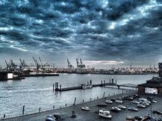 Fischmarkt <3 #hamburg #view #clouds