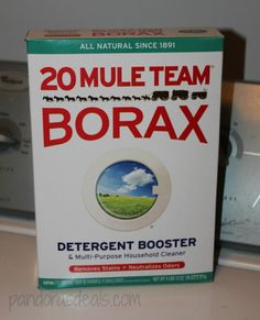 20 Mule Team Borax: Tons of household uses!