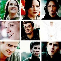 Hunger Games / Catching Fire / Mockingjay