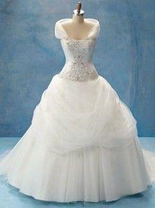 disney princess wedding | Alfred Angelo Disney Princess Belle Wedding Dress Style 206