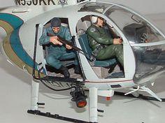1/35 Dragon MD500D Police Series by Carlos Escobar