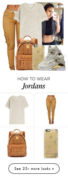 """""""Untitled #981"""" by lover-185 on Polyvore featuring IRO, MCM, Casetify and NIKE"""