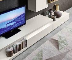 Livignia wall unit C22 Osvětlená TV deska