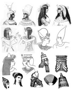 Feel free to use this - just that I ask you don't redistribute on a cd or on another collage sheet for sale. Ancient Egypt Fashion, Ancient Egyptian Art, Free Collage, Digital Collage, Egypt Tattoo, King Outfit, Piercing, Digi Stamps, Collage Sheet