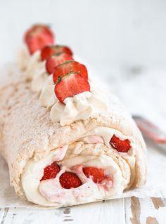 Cake Recipes, Dessert Recipes, Desserts, Meringue, Grandma Cookies, Good Food, Yummy Food, Swedish Recipes, Piece Of Cakes