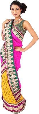 Image result for different wear saree photo
