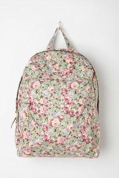 BDG Floral Collage Backpack