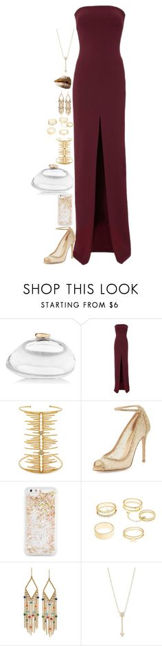 """""""Untitled #1648"""" by tapping-raven ❤ liked on Polyvore featuring Benedetta Bruzziches, Solace, Joanna Laura Constantine, Gianvito Rossi, ban.do, Charlotte Russe, Ralph Lauren and EF Collection"""