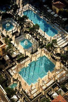 Bellagio Pools- best in Vegas! Las Vegas Attractions, Las Vegas Hotels, Nevada, Vegas Pools, Las Vegas Vacation, Hotels And Resorts, Las Vegas Bellagio, Travel, City Wallpaper