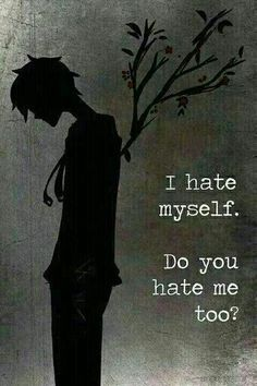 Its okay if you hate me • Anime Quote