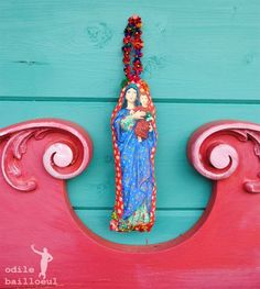 Vierge roulotte by Odile Bailloeul, with instructions and pictures