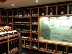 The Wine Shop at Harrods