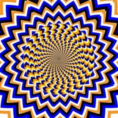 Spin Waves motion illusie Stockfoto - 14800936