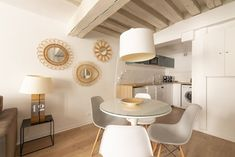 Marais designer 1BR, close to everything, up to 4 guest - Saint-Gervais Paris Airbnb, Open Market, King Bedroom, Exterior Lighting, Washer And Dryer, Second Floor, Dining Area, Everything, Design
