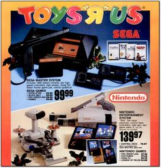 VC&G | [ Retro Scan of the Week ] Nintendo vs. Sega: Christmas ...