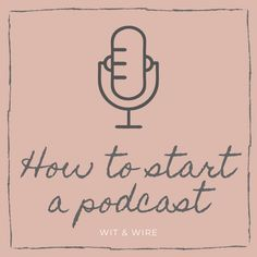 """I know you've thought, """"Hey, I should start a podcast! Here are 5 ways that starting a podcast can change your life and business. Podcast Topics, Podcast Setup, How To Start A Blog, How To Make Money, Getting To Know Someone, Vintage Jewelry Crafts, Starting A Podcast, Magic Words, Blog Planner"""
