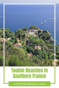 Heading to Southern France? Here is the ultimate guide to the best beaches in Toulon. #ToulonFranceBeaches #ToulonInFrance #BeachesinToulonFrance#SouthernFranceBeaches #toulonbeachespictures #toulonfrancebeaches #beachesneartoulonFrance #bestbeachesneartoulonFrance #sandybeachesnearToulo #bestbeachesbetweenmarseilleandToulon #beachesclosetoToulon #beachesaroundToulon #bestbeachinToulon #toulonbestbeaches Travel Destinations Beach, Beach Vacations, Europe Travel Guide, Europe Destinations, Beach Travel, Beach Trip, Vacation Trips, Travel Guides, Travel Tips