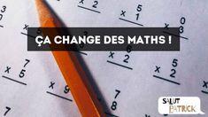 """La contrepèterie du jour : """"Ça change des maths !"""" (N°27) - Découvrir les indices et la solution sur Salut Patrick ! Change, Solution, Math, Wish, Math Resources, Mathematics"""