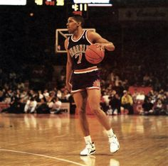 Kevin Johnson. I loved watching him play. The one and only reason I fell in love with the game...
