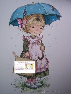quenalbertini: Mary May Art Cute Images, Cute Pictures, Painting For Kids, Art For Kids, Hobby Lobby Christmas, I Love Winter, Umbrella Cards, Under My Umbrella, Decoupage Vintage