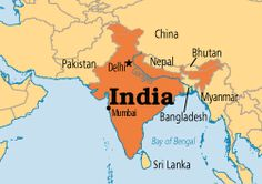 Government: Above is the picture of what India looks like. India is a pretty big country. The kind of government that India is, is Federal Republic. Federal republic means a federation of states with a democratic form of government. India is split into 7 different types of union territories, and 29 states.
