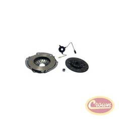 Clutch Kit.     Replaces Part #: XY8990SA. Fits:  Jeep Wrangler (1989-1990) w/ 4.2 or 4.0L & AX/15.  Jeep Cherokee (1989-1990) w/ 4.2 or 4.0L & AX/15.  Kit Components: 53004678 Plate, 53004679 Disc,33004041 Pilot / Maindrive, 5252137 Clutch Control Unit.