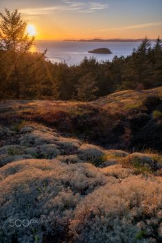 Goose Rock Vernal Equinox Sunset - )